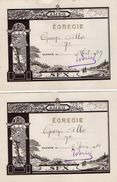 VP11.397 - VANNES 1939 - 40 - Ecole - Témoignage D'Examen - Elève George ALLO - Diplômes & Bulletins Scolaires