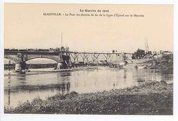 54 - BLAINVILLE - Le Pont Du Chemin De Fer Ligne Epinal Sur La Meurthe - Frankreich