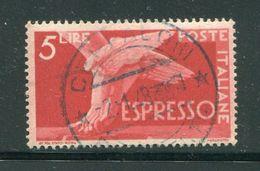 ITALIE- Express Y&T N°27- Oblitéré - Posta Espresso