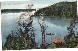 CAPE BRETON, Nova Scotia, Canada, Mira River, 1909 Postcard, S/R Walford Station, Ontario - Cape Breton
