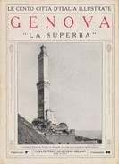"""GENOVA - """"La Superba""""  - Anni '20 - Documenti Storici"""