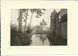 Saint-Roch-sur-Égrenne-Photo: L: 11 Cm X H: 8 Cm) Manoir De Loraille Le 8 Juillet 1956 (Voir Scan Du Verso) - Lieux