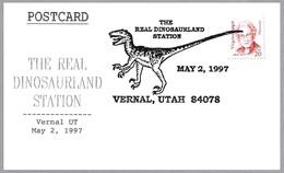DINOSAURIO - The Real Dinosaurland. Vernal UT 1997 - Sellos