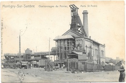Montigny-sur-Sambre NA15: Charbonnages Du Poirier. Puits St André 1911 - Farciennes