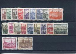 28072 Poland  Set Of 20 Stamps MNH Poland Town Mi-1188/96+1209/17+1228/9 - 1944-.... Republic