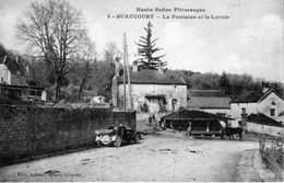 CPA De SUAUCOURT (Haute-Saône) - La Fontaine Et Le Lavoir. Edition Boileau. N° 8. Non Circulée. Bon état. - France