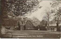 United Kingdom > England > Yorkshire > Sheffield.- Entrance To Norfolk Park - Sheffield