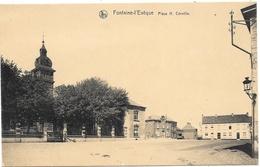 Fontaine-l'Evêque NA45: Place H. Cornille - Fontaine-l'Evêque