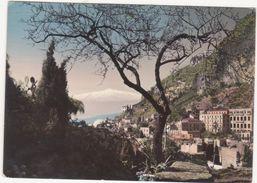 141 TAORMINA MESSINA PANORAMA 1955 - Messina