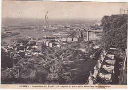 142 GENOVA PANORAMA DAL RIGHI 1955 - Genova (Genoa)