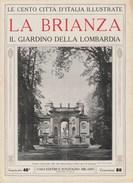 LA BRIANZA - Il Giardino Della Lombardia  - Anni '20 - Documenti Storici