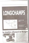 Longchamps-Bertogne-Longvilly (Bastogne)-Carte IGN-60/6-7-1/25000+texte (régionalisme)-edit.Vers L'Avenir-1996 - Topographical Maps