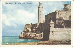 Cuba.Habana.Havana.Farola Del Morro. Lighthouse - Postcards