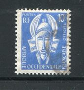 A.O.F- Taxe Y&T N°4- Oblitéré - A.O.F. (1934-1959)
