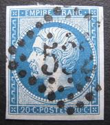 LOT 1315 - NAPOLEON III N°14B - LOSANGE GROS CHIFFRES 532 : BORDEAUX (sur Support) - 1853-1860 Napoleon III