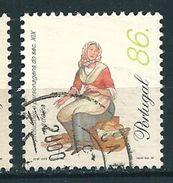 N° 2301 Marchand De Pains    Timbre Portugal Oblitéré  1999 - Usati