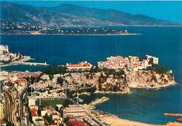 Cpsm -   Principauté De Monaco -  Le  Stade Louis II  , Le Rocher     AF952 - Monaco