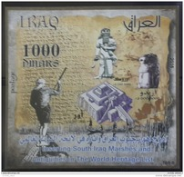Iraq NEW 2016 Issue MNH - South Marshes & Antiquities - UNESCO - S/S - Iraq
