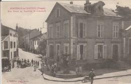 FONTENOY Le CHATEAU Rue Neuve Et Fontaine Monumentale - France