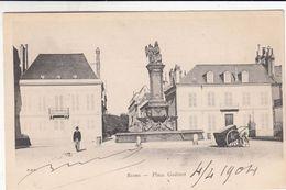 Cp , 51 , REIMS , Place Godinot - Reims
