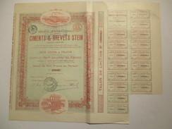 Ciments Et Brevets Stein - Tilleur - Industrie