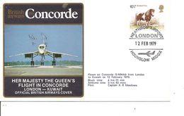 Concorde  ( Vol Londres -Kuwait De 1979 à Voir) - Concorde