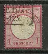 DR: Nr. 19, Gestempelt - Used Stamps