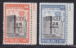 HAITI AERIENS N°  218 & 219 ** MNH Neufs Sans Charnière, TB  (D2151) - Haiti