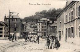 LONGWY LONGWY-BAS RUE DE METZ (TRAMWAY) - Longwy