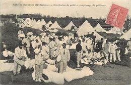 CAMP DE BOUCONNE - Distribution De Paille Et Remplissage De Paillasses. - Other Municipalities