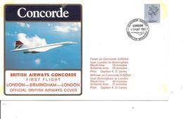 Concorde ( Vol Londres -Birmingham - Londres De 1981 à Voir) - Concorde