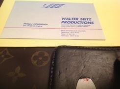 Industrie Textile Linge De Maison Granges Sur Vologne Walter Productions - Cartoncini Da Visita