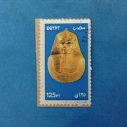 2002 EGITTO EGYPT FRANCOBOLLO USATO STAMP USED - MASCHERA FARAONE 125 - Egypt