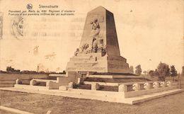 Langemark Bikschote Ieper Zuidschote Steenstraete Steenstrate Monument Aux Morts Du 418 RI - Langemark-Poelkapelle