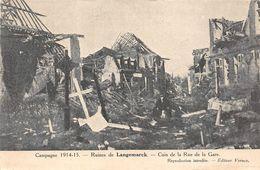 Langemark Guerre 1914 - Langemark-Poelkapelle