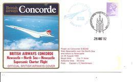 Concorde ( Vol Newcastle -NorthSea-Newcastle De 1982 à Voir) - Concorde