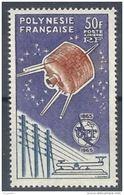 """Polynésie Aerien YT 10 (PA) """" Union Des Télécommunications """" 1965 Neuf** - Airmail"""