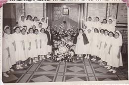 ENFERMERAS/NURSES. HOSPITAL ISRAELITA/EZRALI. BS AS. ANIV. FALLECIMIENTO/DEAD EVA PERON. 1953. - BLEUP - Anonymous Persons
