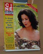 Ciné Revue N 44 29/10/1981 Marie-josé Nat, Patrick Duffy, Pierre Blanchar, Alice Sapritch, Rock Hudson Etc - Cine