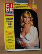 Ciné Revue N 43 22/10/1981 Pia Zadora, Dudley Moore, Claudette Colbert, Daniel Gélin, Bernadette Lafont Etc - Cine