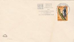 1972 LUXEMBOURG COVER Bird WOODPECKER Stamps SLOGAN EUROPEAN TELECOMMUNICATION Telecom Birds - Luxembourg