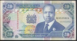 °°° KENYA - 20 SHILLINGS 1993 °°° - Kenia
