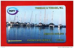 """TRINIDAD & TOBAGO: T&T-205A """"Smooth Sailing"""". TT$ 100 CN: 205CTTA. Used. Rare (10.000ex) - Trinidad & Tobago"""