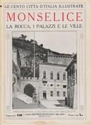MONSELICE - La Rocca, I Palazzi E Le Ville - Anni '20 - Documenti Storici