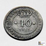 Saint Thomas & Prince - Bahia - 40 Reis - 1819 - Sao Tome Et Principe