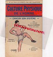 SPORT- CULTURE PHYSIQUE DE L' HOMME-CAPITAINE MAURICE CAMBIER-ILLUSTRATEUR ABEL PETIT-EDITEUR BORNEMANN PARIS-1947 - Sport