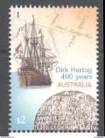 AUSTRALIA, 2016, MNH,SHIPS, DIRK HARTOG, 1v - Barche
