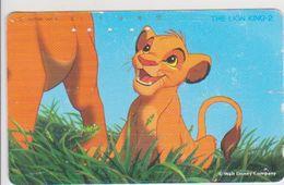JAPAN - FREECARDS-0403 - 110-157479 - DISNEY - THE LION KING 2 - Japan