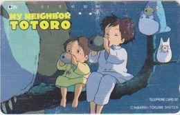 JAPAN - FREECARDS-0418 - 110-105769 - CARTOON - MANGA - TOTORO - Japan