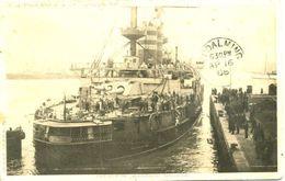 JAPANESE WARSHIP MIKASA 1908 - Warships